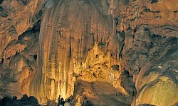 The Cave in Novy Afon. The monastery. Resort city Gagra